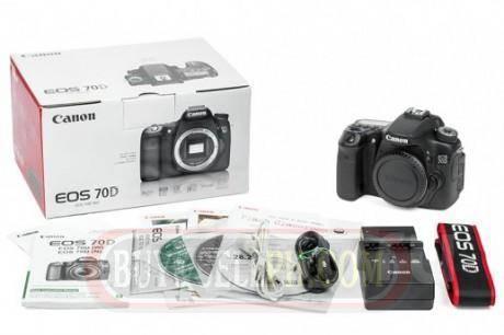 Canon EOS 70D Body. 20 и более Мп