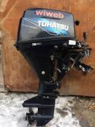 Tohatsu. 9,80л.с., 4-тактный, бензиновый, нога S (381 мм), Год: 2011 год