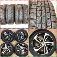 215/55R17 Dunlop winter maxx - 95% - 16 год с литьем Honda. 7.0x17 5x114.30 ET55 ЦО 64,1мм.