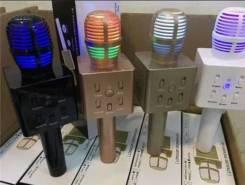 Микрофон для караоке с Bluetooth колонкой Q7-1