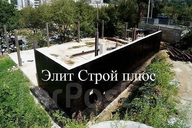 Монолитное строительство. Подпорные стенки. Фундаменты во Владивостоке