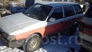 Mazda Familia. механика, 4wd, 1.5 (100 л.с.), бензин, 222 222 тыс. км