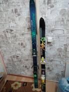 Горные лыжи остались только черные 130 см. 130,00см., горные лыжи, универсальные