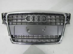 Решетка радиатора. Audi Quattro Audi A4, B6, 8K5/B8, B5 Двигатели: AYM, CCWA, ALZ, AKE, APR, CJCA, ATJ, AMX, BDH, CAPA, CCLA, AQD, ADR, APT, ARG, AVV...