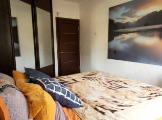 3-комнатная, улица Черняховского 19. 64, 71 микрорайоны, агентство, 67 кв.м. Интерьер