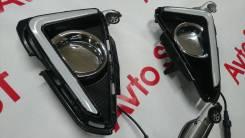 Ходовые огни. Toyota RAV4, ALA49, ASA44, ZSA42, ZSA44, ALA40, ZSA44L, ALA49L, ZSA42L, ASA42, ASA44L Двигатели: 2ADFTV, 2ARFE, 3ZRFE, 1ADFTV, 3ZRFAE