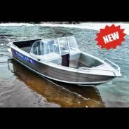 Wyatboat WB-430DCM. 2018 год год, длина 4,30м., двигатель без двигателя, 40,00л.с., бензин. Под заказ
