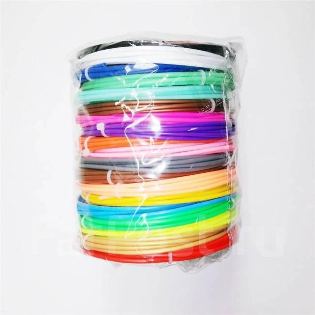 Катридж запасной для 3D ручки Цветной пластик,10м Китай Город 120Бутик