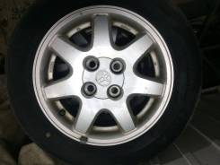 Недорогой комплект колес (Шины+ Диски Toyota). БП по РФ. 5.5x14 4x100.00 ET39