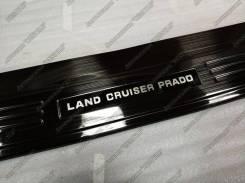 Накладка на бампер. Toyota Land Cruiser Prado, GDJ150W, TRJ150, GRJ150L, GRJ150, TRJ150W, GRJ150W, GDJ150L, KDJ150L, TRJ12, GRJ151W Двигатели: 1GDFTV...