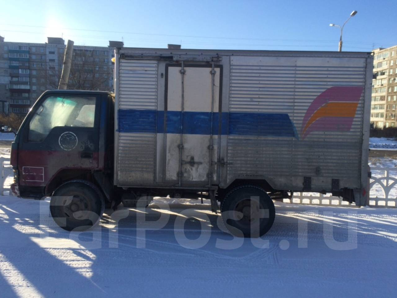 Дром хабаровский край грузовики бабочка исудсо