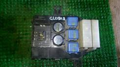 Блок предохранителей салона. Nissan Gloria, PY32, Y32, UY32, PAY32, PBY32 Nissan Cedric, PY32, Y32, UY32, PAY32, PBY32 Двигатели: VG30DE, VG30DET, VG3...