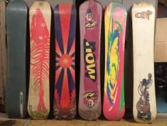 Одним лотом Неделимо 19 сноубордов. Цена за всё, что на фото!. 150,00см., all-mountain (универсальный)