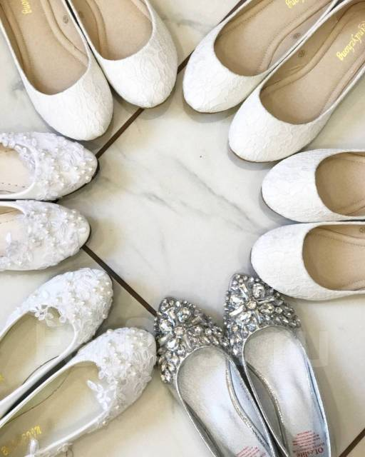5ca6a6d43 Свадебная обувь - Свадебные платья, костюмы и аксессуары во Владивостоке