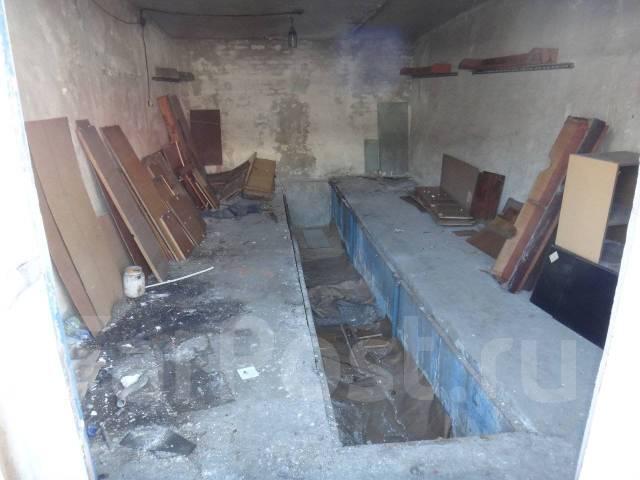 Гаражи капитальные. улица Шошина 25а, р-н БАМ, 31 кв.м., подвал. Вид изнутри