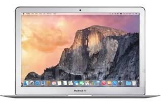 Apple MacBook Air 13 2017 Mid. 13дюймов (33см), 1,8ГГц, ОЗУ 8192 МБ и больше, диск 128 Гб, WiFi, Bluetooth, аккумулятор на 12 ч.
