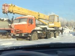Ивановец КС-45717К-1. Камаз ,2003, 25 000 кг., 22 м.