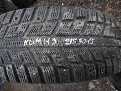 Kumho I'Zen KW22. Зимние, без шипов, 2014 год, износ: 50%