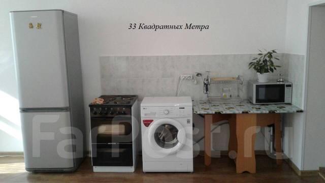 1-комнатная, проспект Партизанский 47. Первая речка, агентство, 34 кв.м.