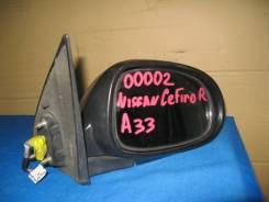 Зеркало заднего вида боковое. Nissan Cefiro, A33 Двигатель VQ20DE