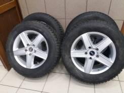 Диски литые с Шинами Nokian Nordman SUV. 7.5x17 5x127.00 ET50.8 ЦО 71,6мм.