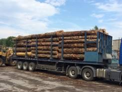 Trailmobil. Полуприцеп бортовой лесовоз, 39 000 кг.