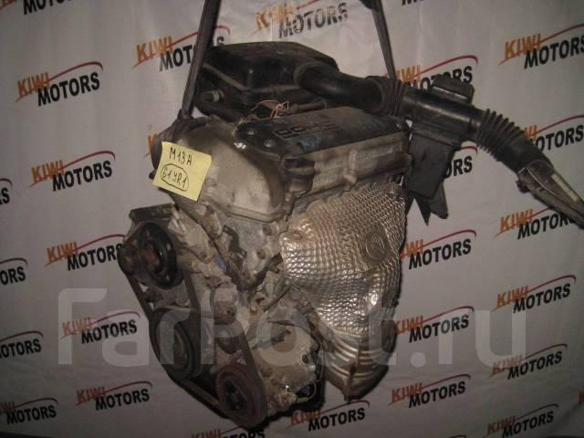 Контрактный двигатель Suzuki Ignis Swift Jimni Wagon R Solio 1.3i M13A