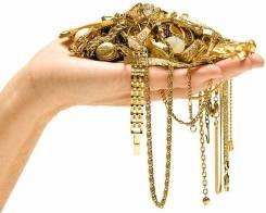 Золотые, серебряные изделия.
