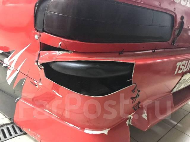 Обвес кузова аэродинамический. Nissan Silvia, S13