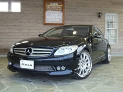 Mercedes-Benz CL-Class. автомат, задний, 5.5, бензин, 27 000тыс. км, б/п, нет птс. Под заказ