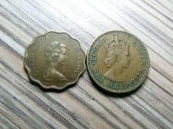 10 и 20 центов Гонконг 1955 и 1978 года одним лотом.