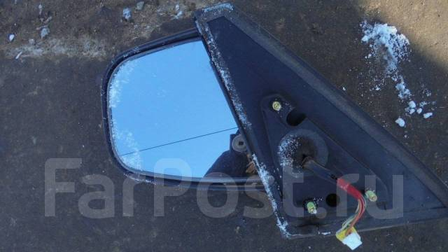 Зеркало заднего вида боковое. Mitsubishi Pajero Pinin Mitsubishi Pajero iO, H72W, H76W, H77W Двигатели: 4G93, 4G94