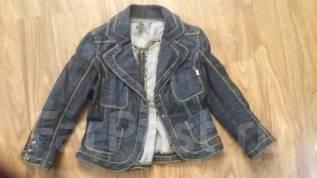 Джинсовый пиджак 38-40 размер.