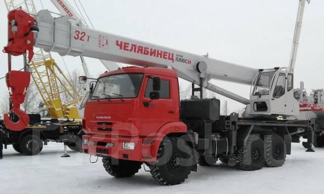"Челябинец КС-55733. Автокран ""-26 шасси-43118"", 11 150куб. см., 32 000кг., 26,00м."