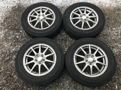 Готовый комплект колес 195/65R15 5*100. 6.0x15 5x100.00 ET45 ЦО 73,0мм.