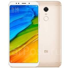 Xiaomi Redmi 5 Plus. Новый, 32 Гб, Желтый, Золотой