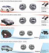 Фара противотуманная. Toyota: ist, XA, MR2, Highlander, Kluger V, Prius Scion xA Двигатель 1NZFXE