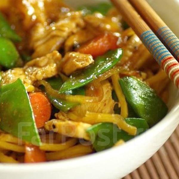 Настоящая китайская кухня с доставкой. Большие порции! Скидки!. Акция длится до 30 июня