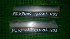 Накладка на крыло. Nissan Gloria, Y32, PY32, UY32, PAY32, PBY32 Двигатели: VG30DE, VG30DET, VG30E, VG20E, RD28