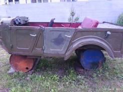Кузов ГАЗ 69 А