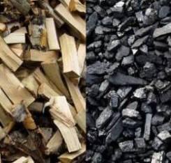 Уголь каменный тоннажем дрова