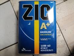 ZIC A+. Вязкость 10W-40, полусинтетическое