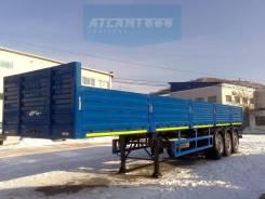 ATLANT SWH1250, 2017. Новый вездеходный полуприцеп Atlant SWH1250 бортовой-контейнеровоз, 50 000 кг.