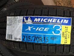 Michelin X-Ice 3. Зимние, без шипов, 2017 год, без износа, 4 шт