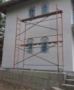 Покраска фасадов, (жидкая теплоизоляция, огнезащита, антикорр, резина)