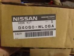 Колодка тормозная. Nissan Elgrand, E51, MNE51, ME51, NE51 Infiniti FX35, S50 Infiniti FX45, S50 Двигатели: VQ35DE, VQ25DE, VK45DE