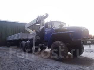 Урал. Тягач с манипулятором иф-300 9 тонн. 2015г, 11 150 куб. см., 9 000 кг.