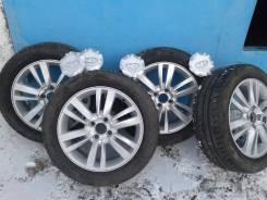 Комплект штатных летних колёс в сборе на Лада-Веста. 6.0x16 4x100.00 ET50 ЦО 60,1мм.