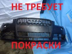 Решетка радиатора. Audi A4, 8E2, 8E5, 8EC, 8ED, 8HE Audi S4, 8E2, 8E5, 8EC, 8ED, 8HE Двигатели: AKE, ALT, ALZ, AMB, AMM, ASB, ASN, AUK, AVB, AVF, AVJ...