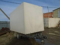 172 ЦАРЗ. Прицеп Бортовая платформа с воротами